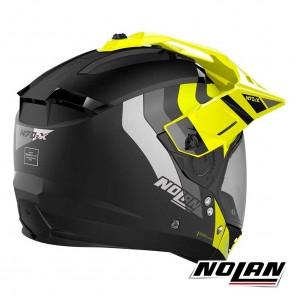 Nolan N70-2 X N-COM Decurio 30 Helmet - Flat Black Yellow