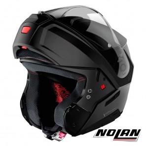 Nolan N90-3 N-COM Classic 10 Helmet - Flat Black