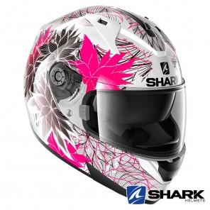 Shark RIDILL Nelum Helmet - White Black Violet