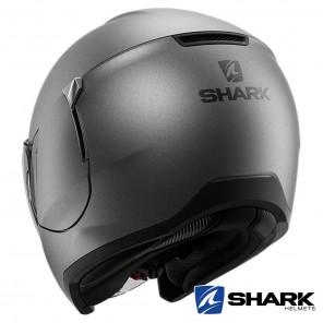 Shark CITYCRUISER Blank Mat Helmet - Anthracite