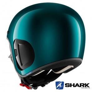 Shark S-DRAK 2 Blank Helmet - Green Metal