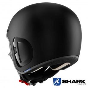 Shark S-DRAK 2 Blank Mat Helmet - Black