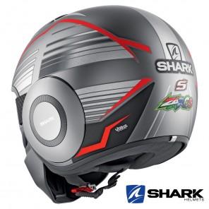 Shark STREET-DRAK Replica Zarco Malaysian GP Mat Helmet