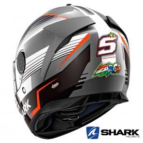 Shark SPARTAN Replica Zarco Malaysian GP Helmet