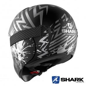 Shark VANCORE 2 Overnight Mat Helmet - Black Anthracite Silver