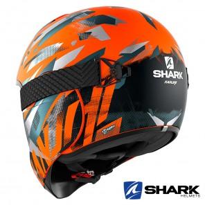 Shark VANCORE 2 Kanhji Hi-Vis Mat Helmet