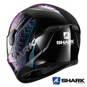 Shark D-SKWAL 2 Shigan Helmet - Black Violet Glitter