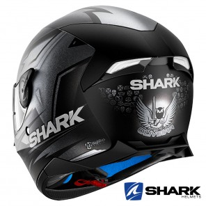 Shark SKWAL 2 Replica Oliveira Mat Helmet