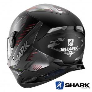 Shark SKWAL 2 Venger Mat Helmet - Black Anthracite Red