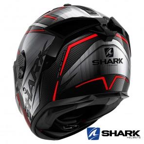 Shark SPARTAN GT CARBON Kromium Helmet - Carbon Chrom Red