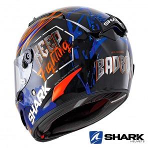 Shark RACE-R PRO Replica Lorenzo Catalunya GP 2019 Helmet - Black Red Blue