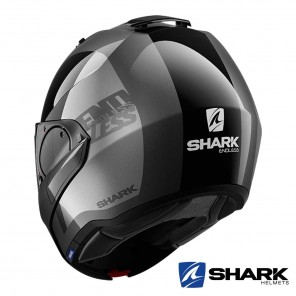 Shark EVO-ES Endless Helmet - Anthracite Black