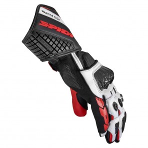 Spidi CARBO 5 Leather Gloves - Red