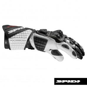 Spidi CARBO TRACK EVO Leather Gloves - Black White