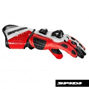 Spidi CARBO TRACK EVO Leather Gloves - Red