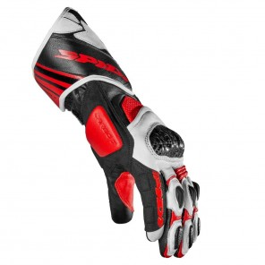 Spidi CARBO 7 Leather Gloves - Red