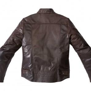 Spidi GARAGE Leather Jacket - Brown
