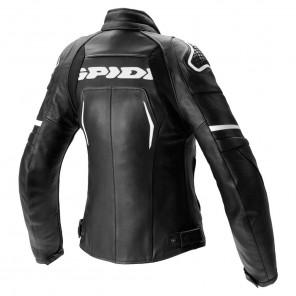 Spidi EVORIDER 2 LADY Leather Jacket - Black White