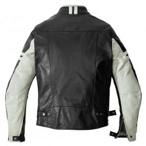 Spidi VINTAGE Leather Jacket - Ice Black