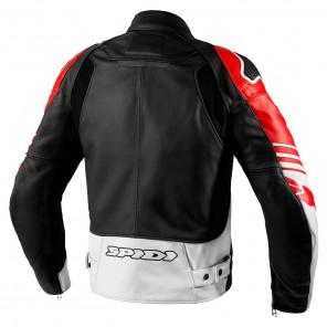 Spidi TRACK WARRIOR Leather Jacket - Red