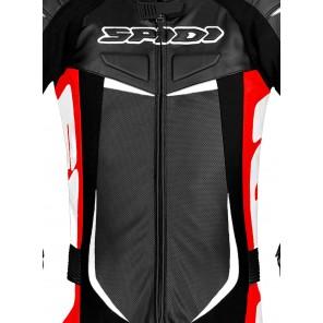 Spidi TRACK WIND PRO Leather Suit - Red Black
