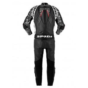 Spidi TRACK REPLICA EVO Leather Suit - Black White