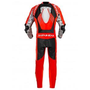 Spidi TRACK REPLICA EVO Leather Suit - Red White