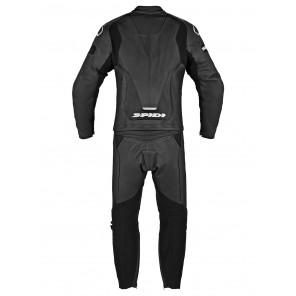 Spidi LASER TOURING 2pc Leather Suit - Black White