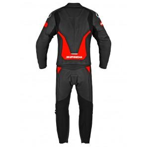 Spidi LASER TOURING 2pc Leather Suit - Black Red