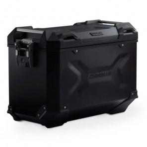 SW-MOTECH TRAX ADV L Aluminium Left Side Case - 45 Liters - Black