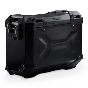 SW-MOTECH TRAX ADV M Aluminium Left Side Case - 37 Liters - Black