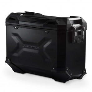 SW-MOTECH TRAX ADV M Aluminium Right Side Case - 37 Liters - Black