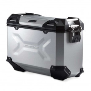 SW-MOTECH TRAX ADV M Aluminium Right Side Case - 37 Liters - Silver