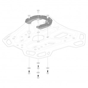 SW-MOTECH PRO Tank Ring for ADVENTURE-RACK - GPT.00.152.36100/B
