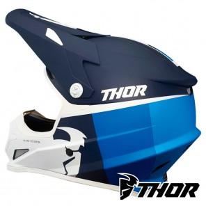 Thor SECTOR RACER Helmet - Navy Blue