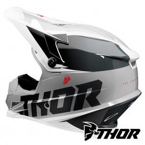 Thor SECTOR FADER Helmet - Black White