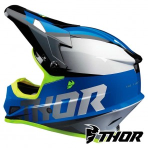Thor SECTOR FADER Helmet - Blue Black