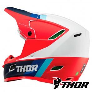 Thor REFLEX APEX Helmet - Red White Blue