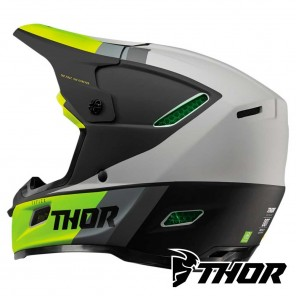 Thor REFLEX APEX Helmet - Acid Grey