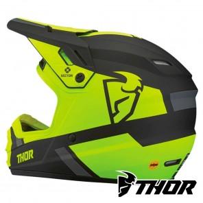 Thor Youth SECTOR SPLIT Helmet - Acid Black