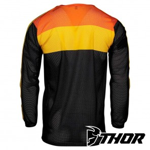 Thor HALLMAN TAPD AIR Jersey - Black Orange