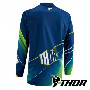 Thor Youth PHASE PRISM Jersey - Navy