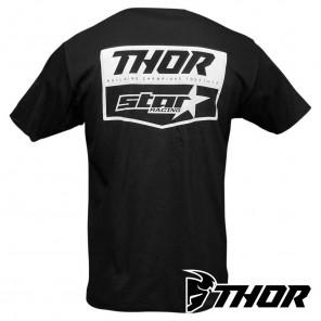 Thor STAR RACING CHEVRON Tee - Black