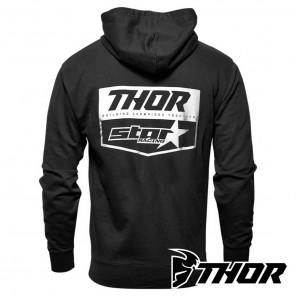 Thor STAR RACING CHEVRON Zip-Up - Black