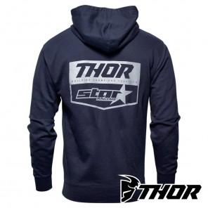 Thor STAR RACING CHEVRON Zip-Up - Navy