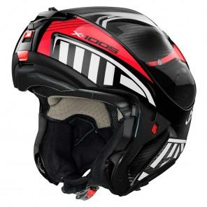 X-lite X-1005 ULTRA CARBON N-COM Cheyenne 11 Helmet - Carbon Red