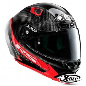 X-lite X-803 RS ULTRA CARBON Hot Lap 13 Helmet - Carbon Red