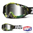 100% THE RACECRAFT Bootcamp Goggles - Silver Mirror Lens