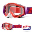 100% THE RACECRAFT Watermelon Goggles - Clear Lens