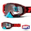 100% THE RACECRAFT Kikass Goggles - Clear Lens